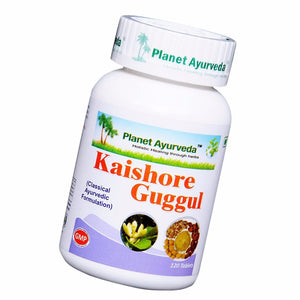 Planet Ayurveda Kishore Guggul Tablets (120)  Useful For Joint Pain Relief