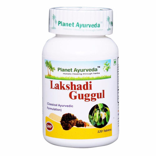 Planet Ayurveda Lakshadi Guggul Pills (120) - Bone Health Available