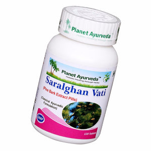 Planet Ayurveda's Saralghan Vati (120 tablets Each) Improves Renal functions