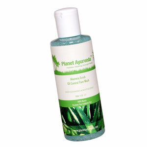 Planet Ayurveda's Aloe Vera Scrub Oil Control Face Wash-No fear Of Side Effects