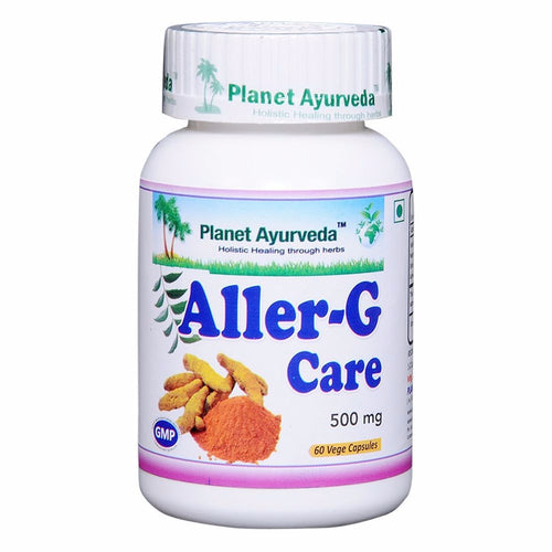 Planet Ayurveda Aller-G Care Capsules (60) - Respiratory Allergy Available