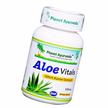 Planet Ayurveda Aloe Vitals Capsules (60) - Supports Good Digestion