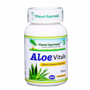 Planet Ayurveda Aloe Vitals Capsules (60) - Supports Good Digestion Available