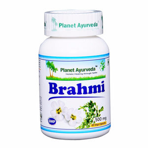 Planet Ayurveda's Brahmi Capsules (60)-It Supports The Healthy Nervous System. Available