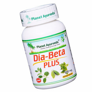 Planet Ayurveda Dia Beta Plus Capsules (60) For Prevent Diabetes - 150gm