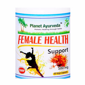 Female Health Support Capsules (60) Planet Ayurveda For Hormone Level - 150gm