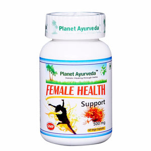 Female Health Support Capsules (60) Planet Ayurveda For Hormone Level - 150gm Available