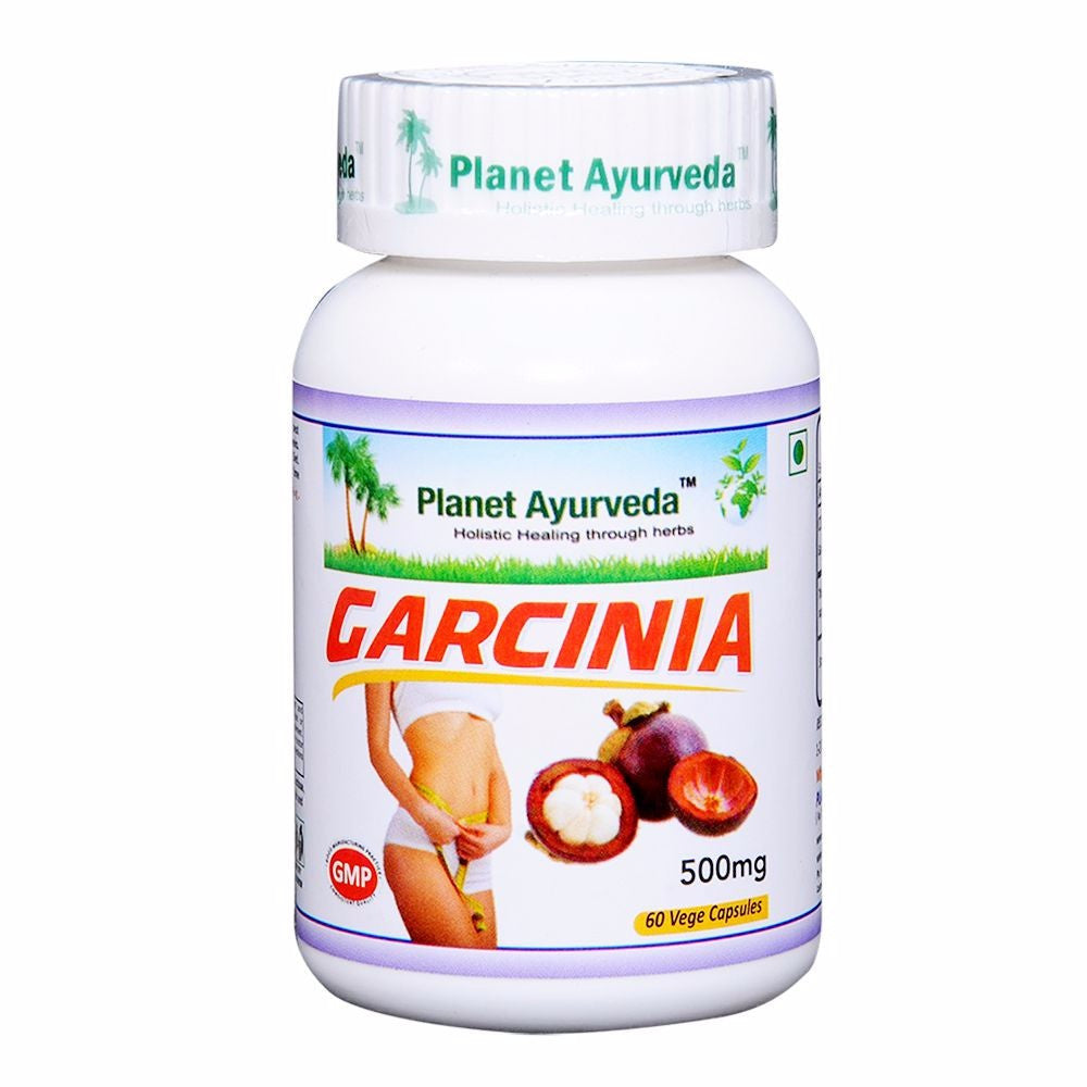 Planet Ayurveda Garcinia Capsules (60) For Useful Loose Weight - 150 gms Available
