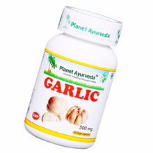 Planet Ayurveda Garlic Capsules (60) For Maintain a Health & Vitality - 150gm