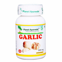 Planet Ayurveda Garlic Capsules (60) For Maintain a Health & Vitality - 150gm Available