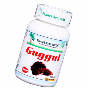 Guggul Capsules (60) Planet Ayurveda For Muscles Pain & Health Metabolism 150g