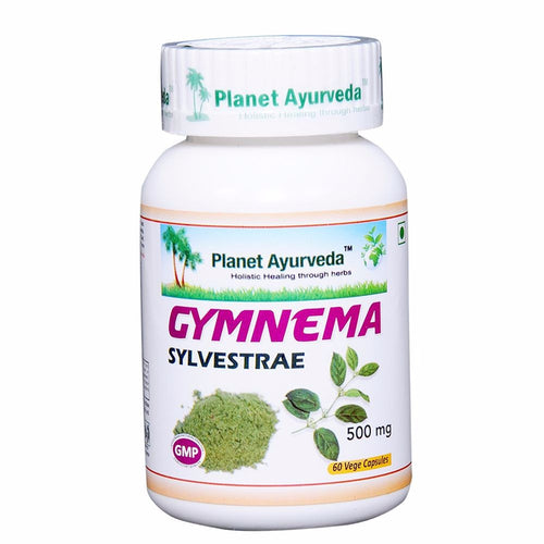 Planet Ayurveda Gymnema Sylvestre Capsules (60) For Healthy Blood Sugar - 150g Available