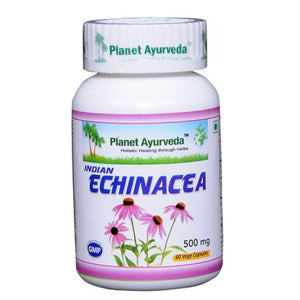 Planet Ayurveda Indian Echinacea Capsules (60) For Healthy  Stomach - 150gm
