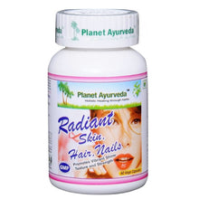Planet Ayurveda Radiant Skin Hair Nails Formula Capsules (60 Caps)