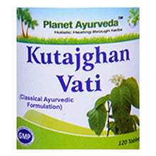 Planet Ayurveda Kutajghan Vati Tablets (120) For Relieve Dysentery - 250gm