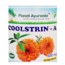Planet Ayurveda Coolstrin - A, 60 Capsules For pH & Healthy Colon - 150gm