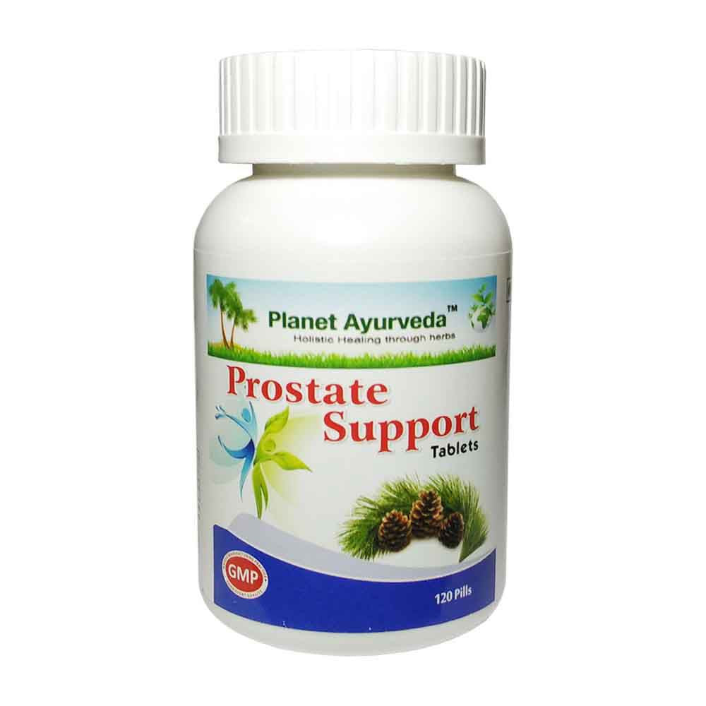 Planet Ayurveda Prostate Support Tablets (120) For Sexual & Urinary health -250g