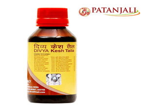 100% Natural Patanjali Divya Kesh Tail (Hair Oil) For Hair Loss - 100ml