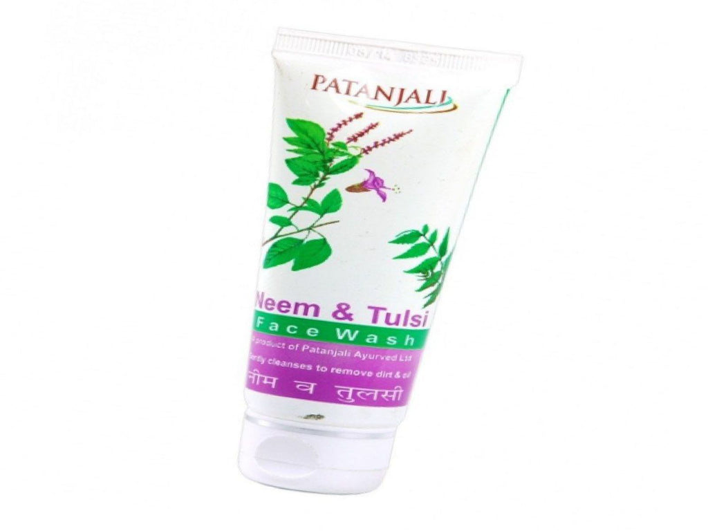 Patanjali Neem Tulsi Face Wash For Revent Pimples - 60gm