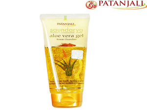 100% Natural Patanjali Saundarya Aloevera Gel  Skin Ailments -150ml