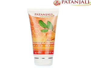 Patanjali Honey Orange Face Wash - Smooth And Glowing - 60 Gm