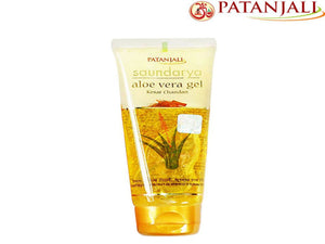 Patanjali Saundarya Aloevera Gel Kesar Chandan - Roughness And Dullness - 60ml