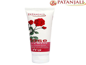Pure  Natural Ingredients Patanjali Rose Face Wash  - 60Gm