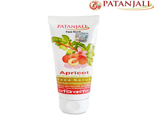 Patanjali Apricot Face Scrub  Both Men And Women - 60Gm