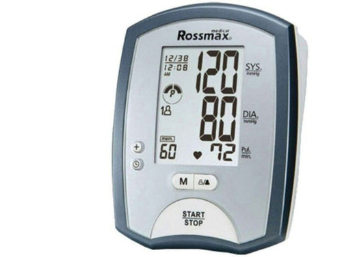 Digital Blood Pressure Monitor MJ701F Upper Arm BP Monitor With Thermometer