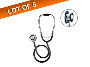 Rossmax Dual Head Stethoscope - Non-Chill Bell And Diaphragm Ring