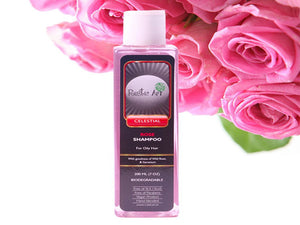 Organic Biodegradable Rose Shampoo - No Animal Testing - 200ML