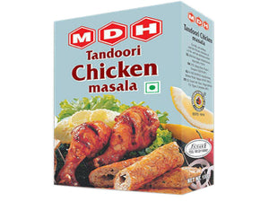 MDH Tandoori Chicken Masala Chargrilled/Roasted Chicken Spice Powder - 100Gms