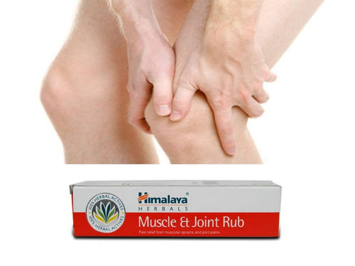 Himalaya Cosm.Muscle & Joint Rub For Backaches & Joint Pains - 20Gm