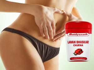 Pure Natural & Ayurvedic Baidyanath Lavanbhaskar Churna - 120 Gm