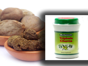 100% Organic Natural Baidyanath Triphala Churna Useful In Dyspepsia - 250gm