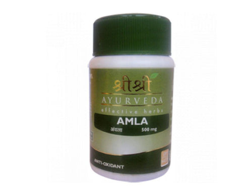 Sri Sri Ayurveda Pack Of 60 Natural Amla Tab's Health Care Product