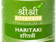 Sri Sri Ayurveda's Harithaki Tablet Contain Effective Herbs Health Care