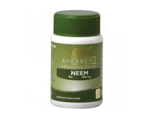 Sri Sri Ayurveda 100% Pure & Natural Ayurvedic Neem Tablet Health Care