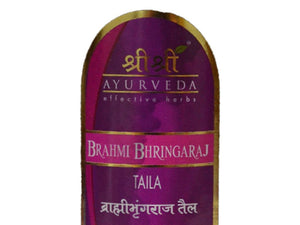 Brami Bringraj Taila 100ml and 200ml By Sri Sri Ayurveda 100% Pure Natural