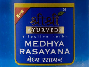 Medhyarasyana Syrup 100ml Contain 100% Natural Herbs By Sri Sri Ayurveda's