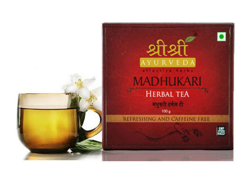 Pure Madhukari Herbal Tea 100gm by Sri Sri Ayurveda 100% Natural