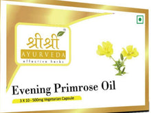 Sri Sri Ayurveda's Primrose Oil In Veg Capsules 30 Tab Homeopathic Treatment