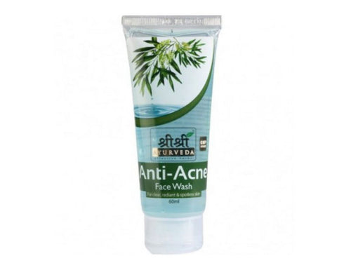 Genuine Anti Acne Face Wash Skin Clear, Radiant, Fresh by Sri Sri Ayurveda