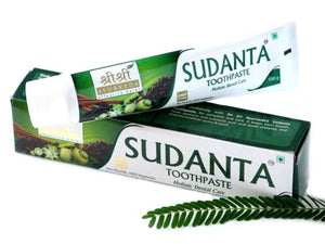 Sri Sri Ayurveda's Sudanta Toothpaste for Healthy and Strong Teeth,100 gm