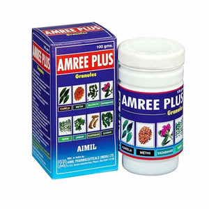 Aimil Amree Plus Granules, Aimil For The Management Of Diabetes Mellitus - 100 Gms Available