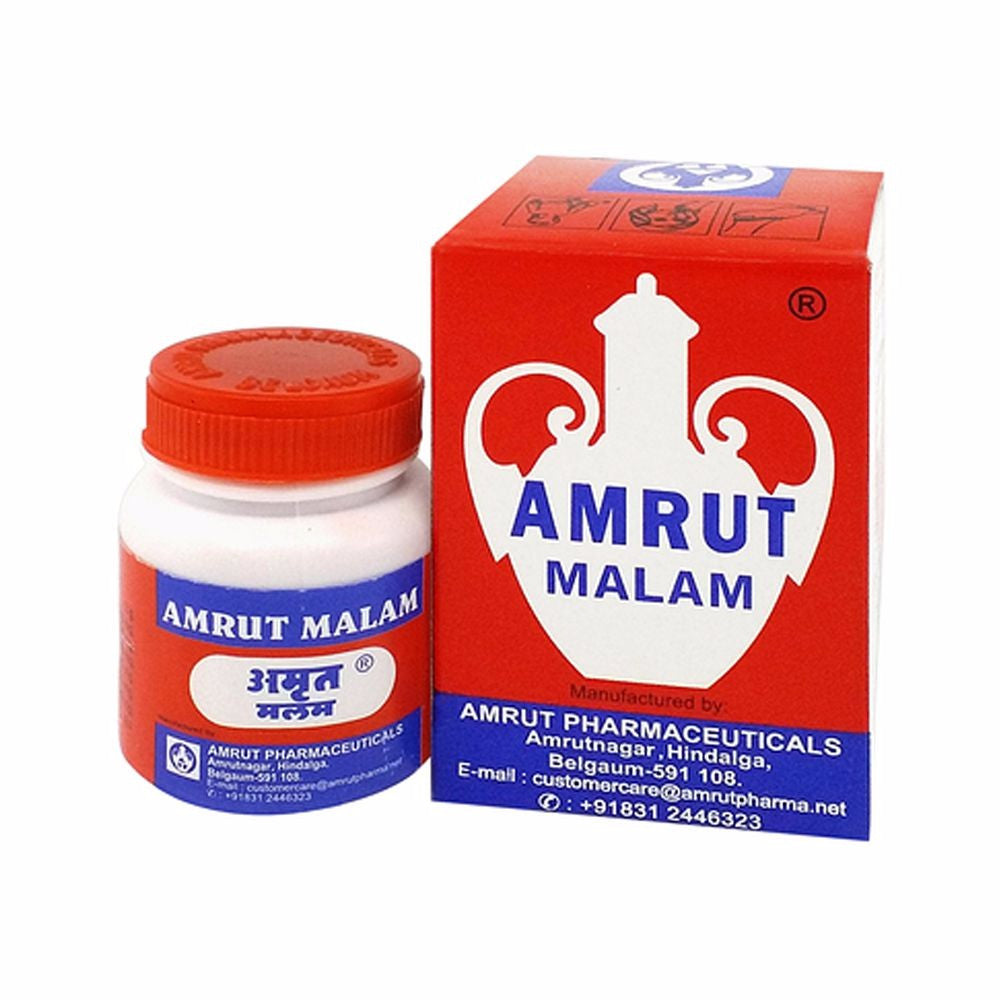 Amrut Malam Amrut Pharmaceuticals Useful For Cracks On Heals Foot Toes -25gm