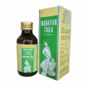 Ashwin Narayan Taila, For Prevents Joints & Muscles Pain - 50 Ml Available