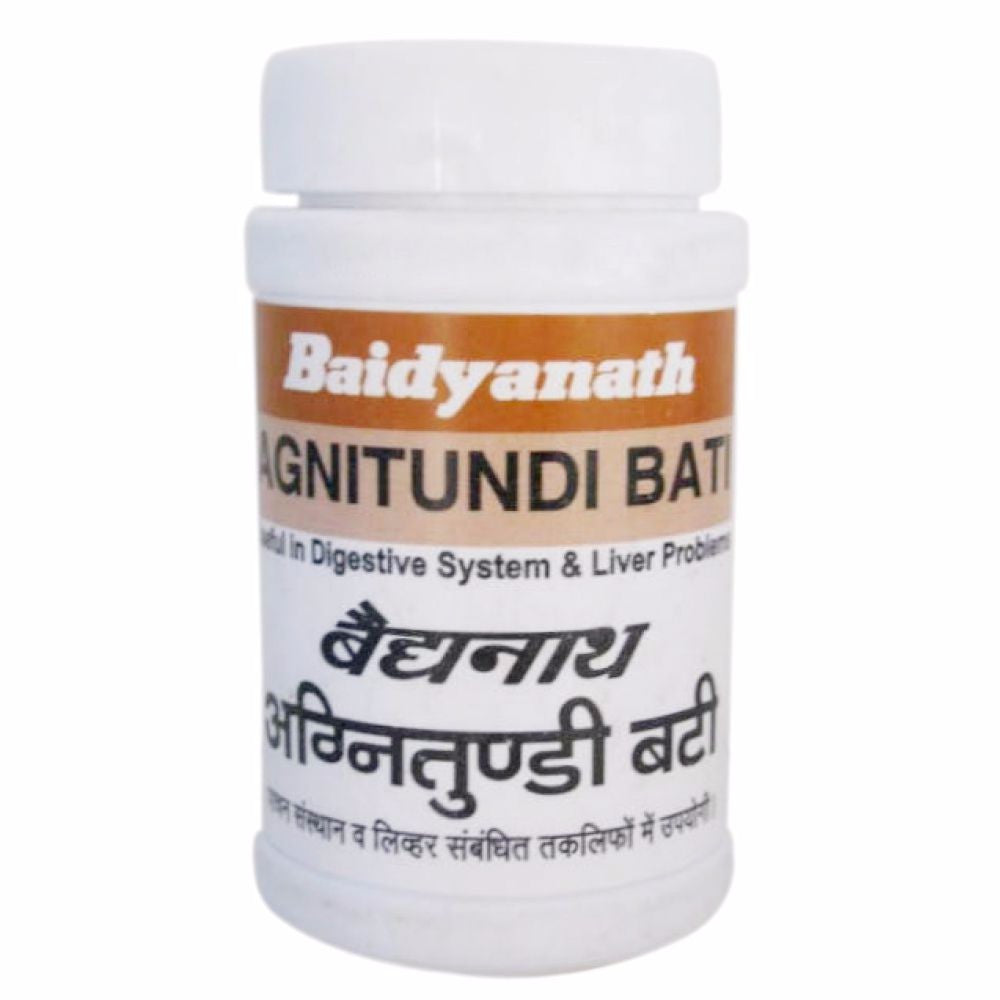 Agnitundi Bati Baidyanath, 80 Tablets, Stomachic, Carminative & Alternative Available