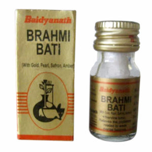 Brahmi Vati, Baidyanath, 10 Tablets, For Weak Memory Available