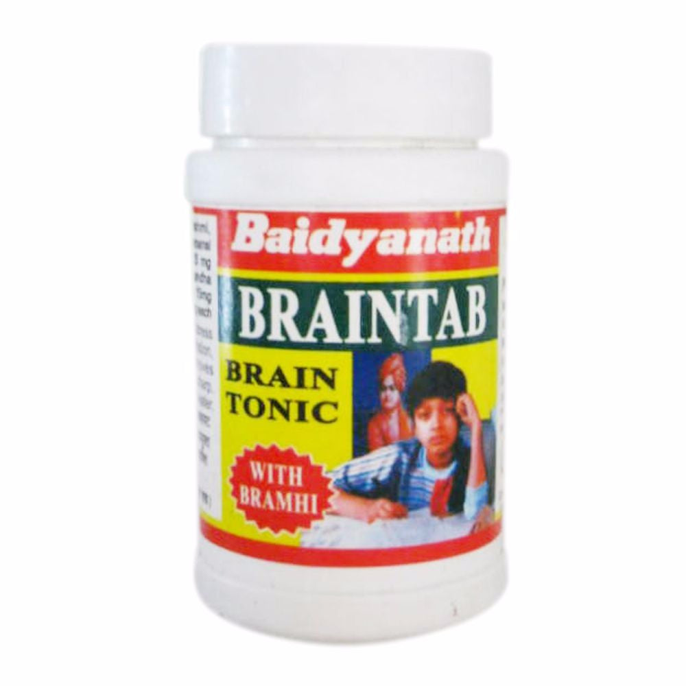 New Braintab Baidyanath 50 Tablets Improves Grasping Power Available